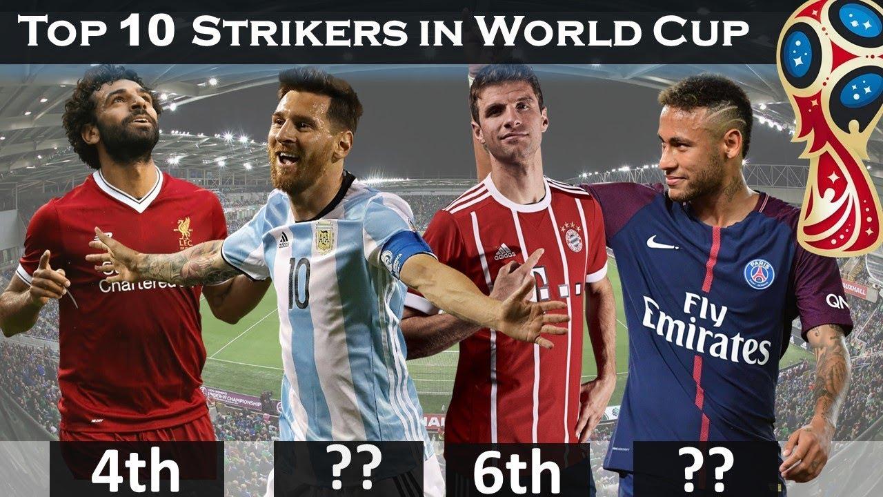 World Cup Top Scorers : Top striker in world cup best forward