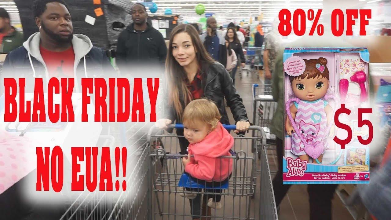 BLACK FRIDAY NO EUA ! LOUCURA TOTAL! (BABY ALIVE POR $5)