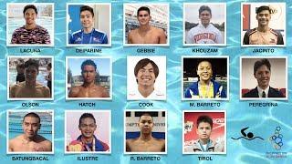 Philippine Swimming Team   2019 Sea Games