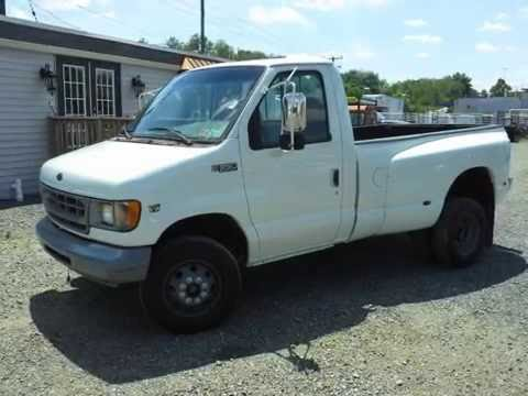 E350 Pickup 2001 Ford E350 Pick Up Truck Diesel 7 3l