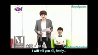 "[ENGSUB] 110614-15 Yahoo! Music: Kyu-Hyuk teaching how to sing ""Hot Times"" (Part 1-2)"