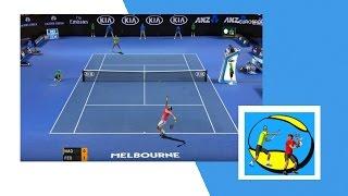 Tennis Elbow 2013 - BEST TENNIS GAME FOR PC - Rafael Nadal vs Roger Federer 60fps/1080p  AO 2017