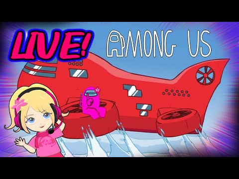 Among Us AIRSHIP MAP! Playing With Viewers (Nintendo Switch Users)