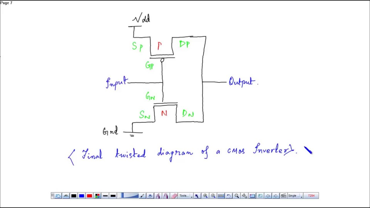 small resolution of schematic diagram and layout of cmos inverter