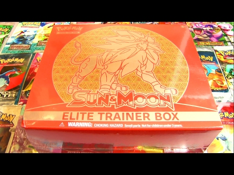 Ouverture d'un ELITE TRAINER BOX Soleil & Lune SOLGALEO LEGENDAIRE !!