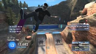 Skate 3: Danny Ways Jam - World Record (355k)