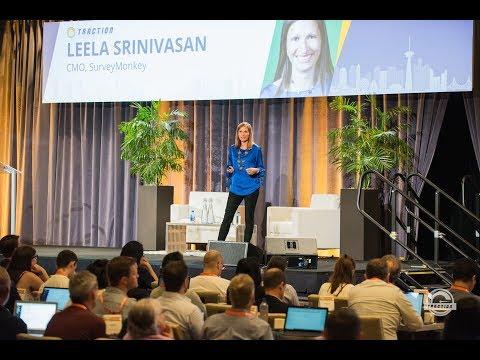 Leela Srinivasan, SurveyMonkey - How To Survive (and Thrive) In The Feedback Economy