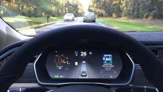 Tesla AutoPilot First Drive