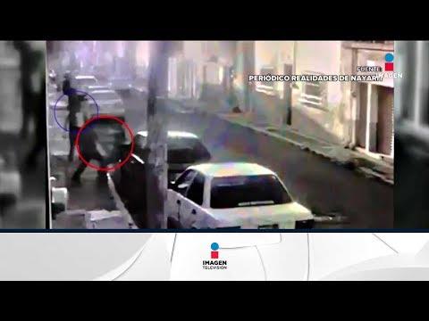 Asesinan a una mujer en plena calle en Nayarit | Noticias con Ciro