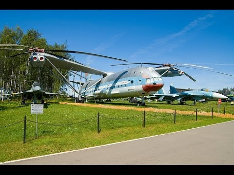 Mil Mi V 12 Worlds Largest Helicopter Russian [HD]-2014