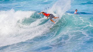 Mitch Crews Weightless Drop for 8.17 at Azores Airlines Pro