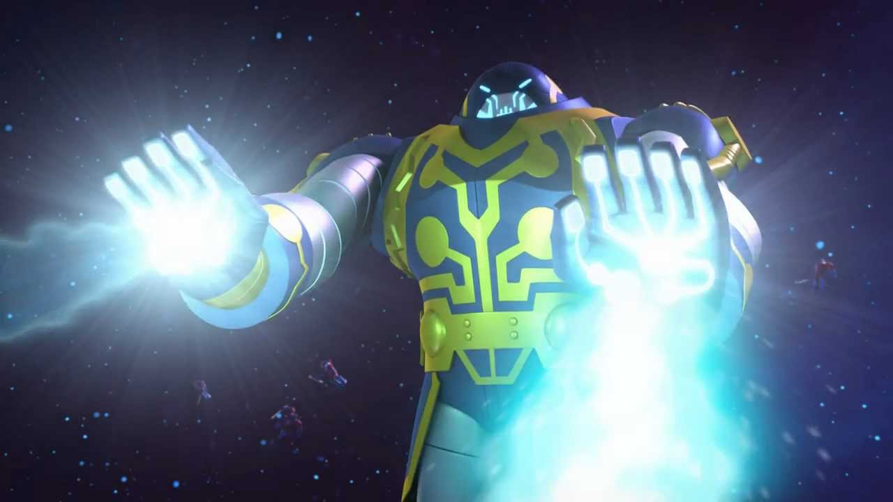 Preview Clip and Images for Green Lantern: The Animated