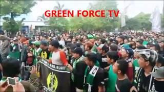 39 39 NGERI 39 39 Dilarang Berangkat Ribuan Bonek Justru Hijaukan Ngawi