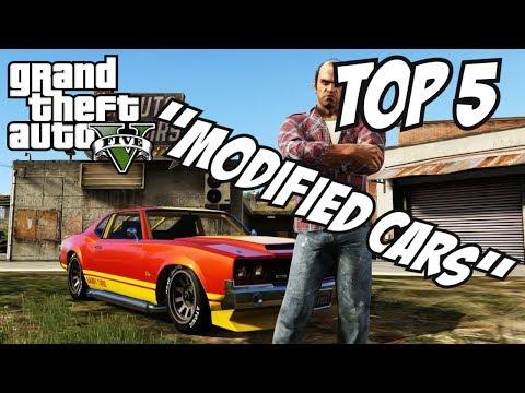 GTA 5 - Top 5 Modified Cars!! (GTA V Custom Cars)