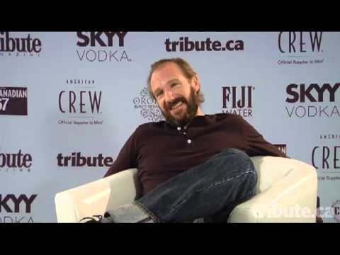 Ralph Fiennes - Coriolanus Interview at TIFF 2011