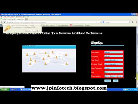 Multiparty Access Control for Online Social Networks: Model and Mechanisms 2013 IEEE JAVA