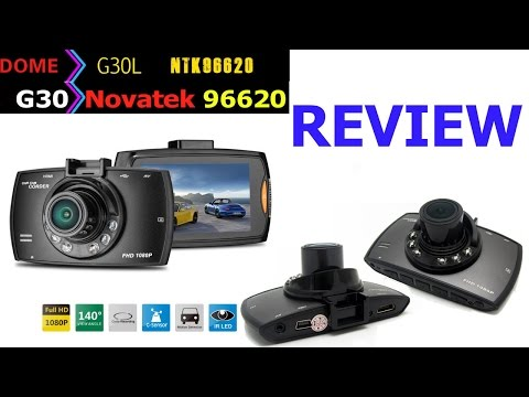 Review Cámara Seguridad Para Auto CAR DVR Dome