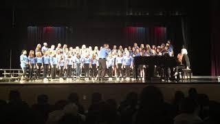 Antiphonal Kyrie 7th girls 2018 Henderson Middle School Dale Duncan