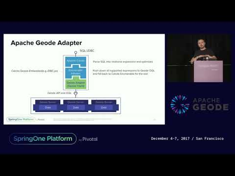 Enable SQL/JDBC Access to Apache Geode/GemFire Using Apache Calcite - Christian Tzolov