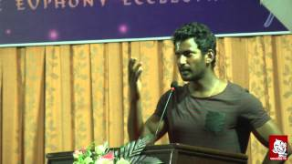 Poojai Audio Launch | Vishal  | Shruthi