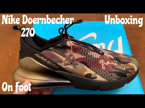 new concept 330c9 bbac5 Nike Doernbecher 270. Unboxing   On Foot w  McFly KOF