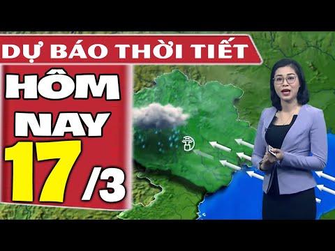 Dự báo thời tiết hôm nay mới nhất ngày 17/3/2020 | Dự báo thời tiết 3 ngày tới