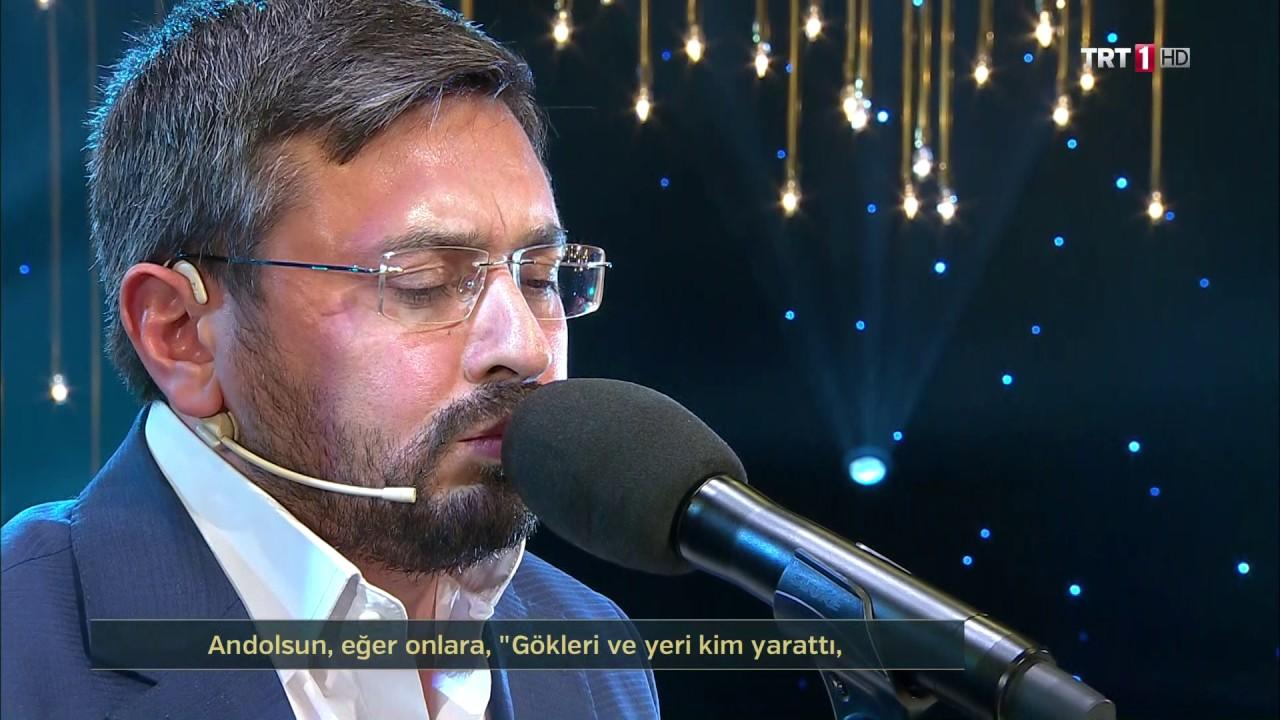 Kur'an-ı Kerim'i Güzel Okuma Yarışması Birincisi  -Mustafa Altın