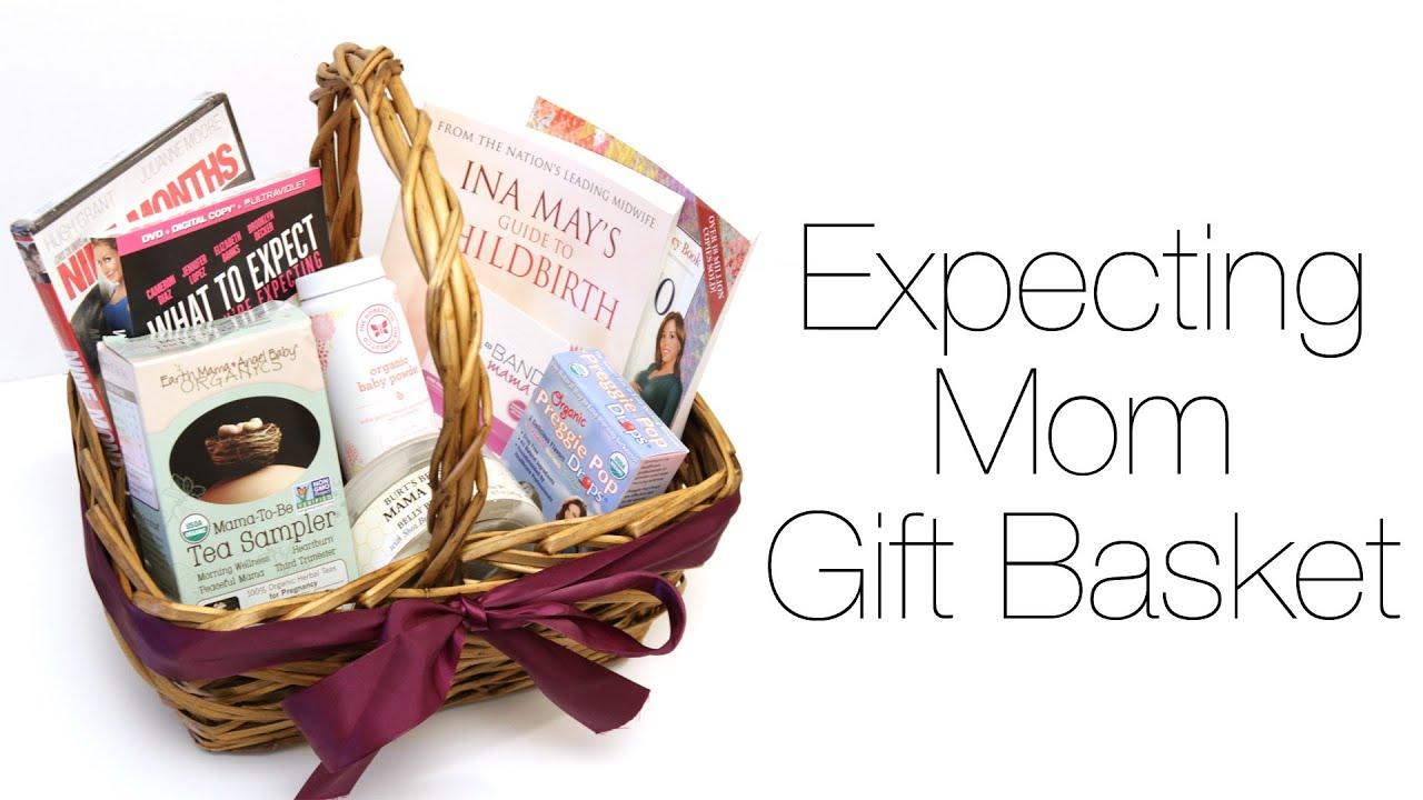 Expecting Mom Gift Basket Youtube