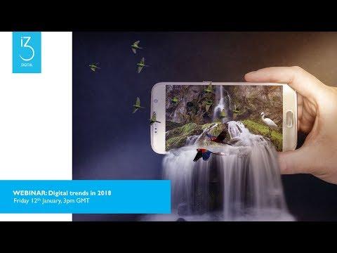 '2018 Digital Trends' Webinar