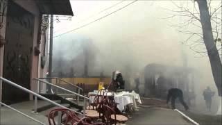 У центрі Хмельницького горить кафе