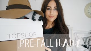 One of Fashion Slave's most viewed videos: Huge Pre-Fall Haul and Try On | Zara Topshop ASOS | Sophie Milner