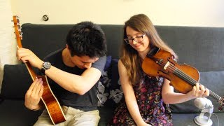 """Teardrops On My Guitar"" - Jazzy Cover by Caitlin Pequignot and John Gonzalez"