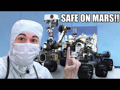 Mars Rover Landing Overview- NOW SAFE ON MARS!!!