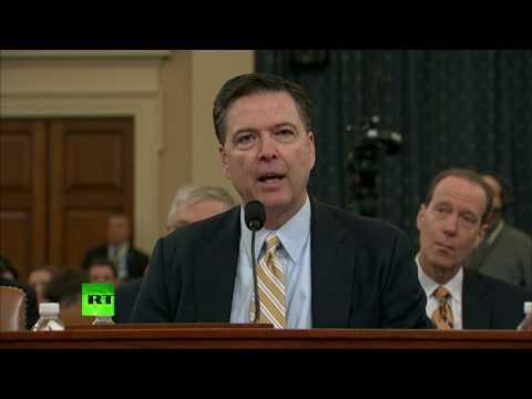 'FBI investigates Russian govt's efforts to interfere in 2016 election' – Bureau chief James Comey