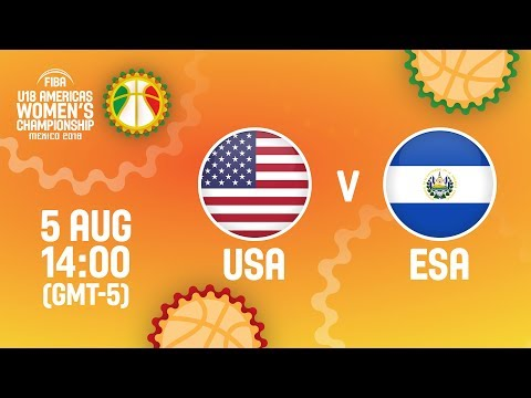 USA v El Salvador - Full Game - Quarter-Final