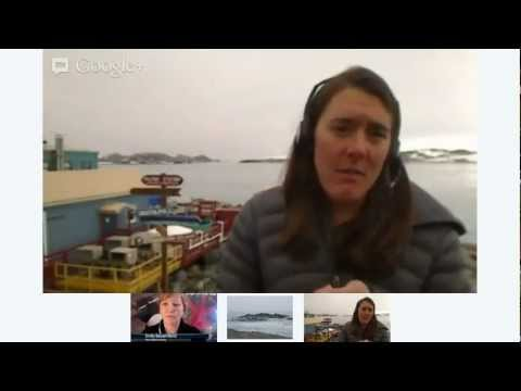 Antarctica Research Station Hangout on Air