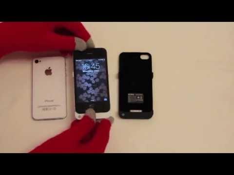 Чехол-аккумулятор для iPhone 4 / 4S (1900мАч) - EXEQ HelpinG-iC02