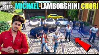 GTA 5 : MICHAEL DADA AND LESTER PLANING TO STEAL LAMBORGHINI SUPER CARS | GTA 5 GAMEPLAY