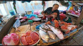 เที่ยวลาว ตลาดขัวดิน เวียงจันทน์ : แม่โขง ออนทัวร์