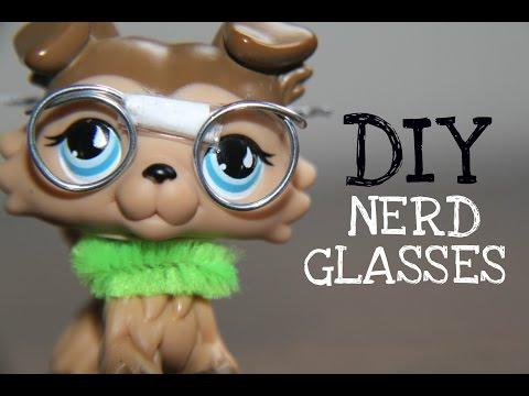 DIY: Nerd Glasses (for LPS & Dolls)
