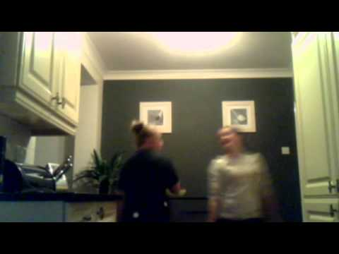 Meghan and Nicci singing and dancing to bruno marrs count on me