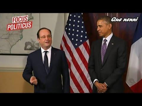 Les blagues de François Hollande en Amérique