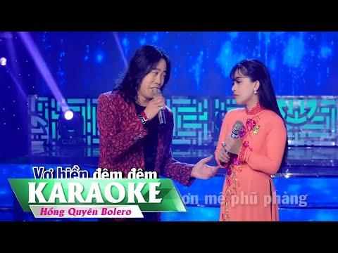 KARAOKE - Hỏi Anh Hỏi Em | Song Ca Beat Chuẩn | Hồng Quyên & Vũ Duy
