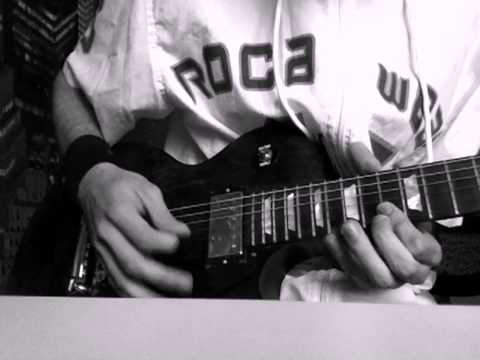 Eminem - Sing For The Moment (guitar solo cover)