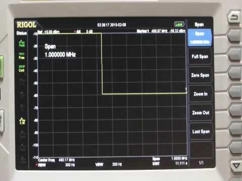 Mobile Radio Duplexer Tuning - With Rigol DSA 815-TG