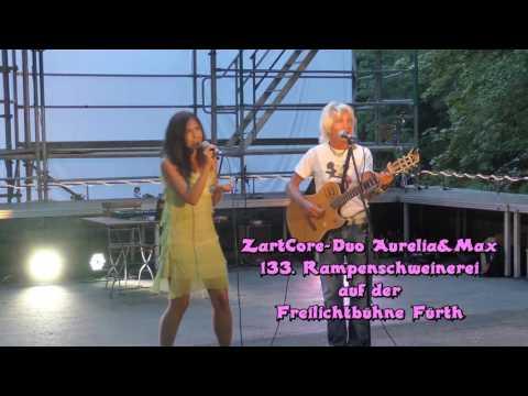 ZartCore-Duo Aurelia&Max auf der 133. Rampenschweinerei