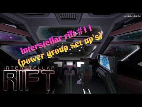 Interstellar rift #11 (power group set up's)