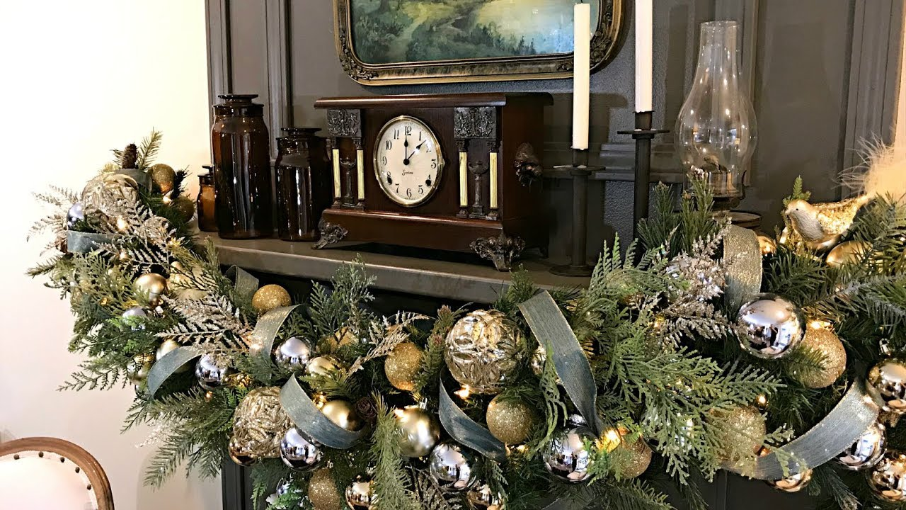 Christmas Mantel Garland How To Decorate Your For
