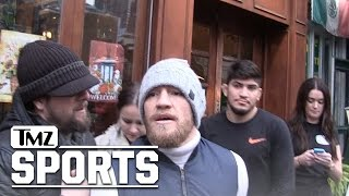 Conor McGregor FIRES BACK AT MAYWEATHER | TMZ Sports