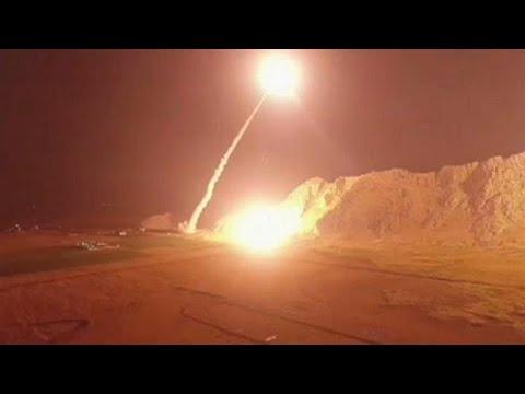 L'Iran tire des missiles sur la Syrie